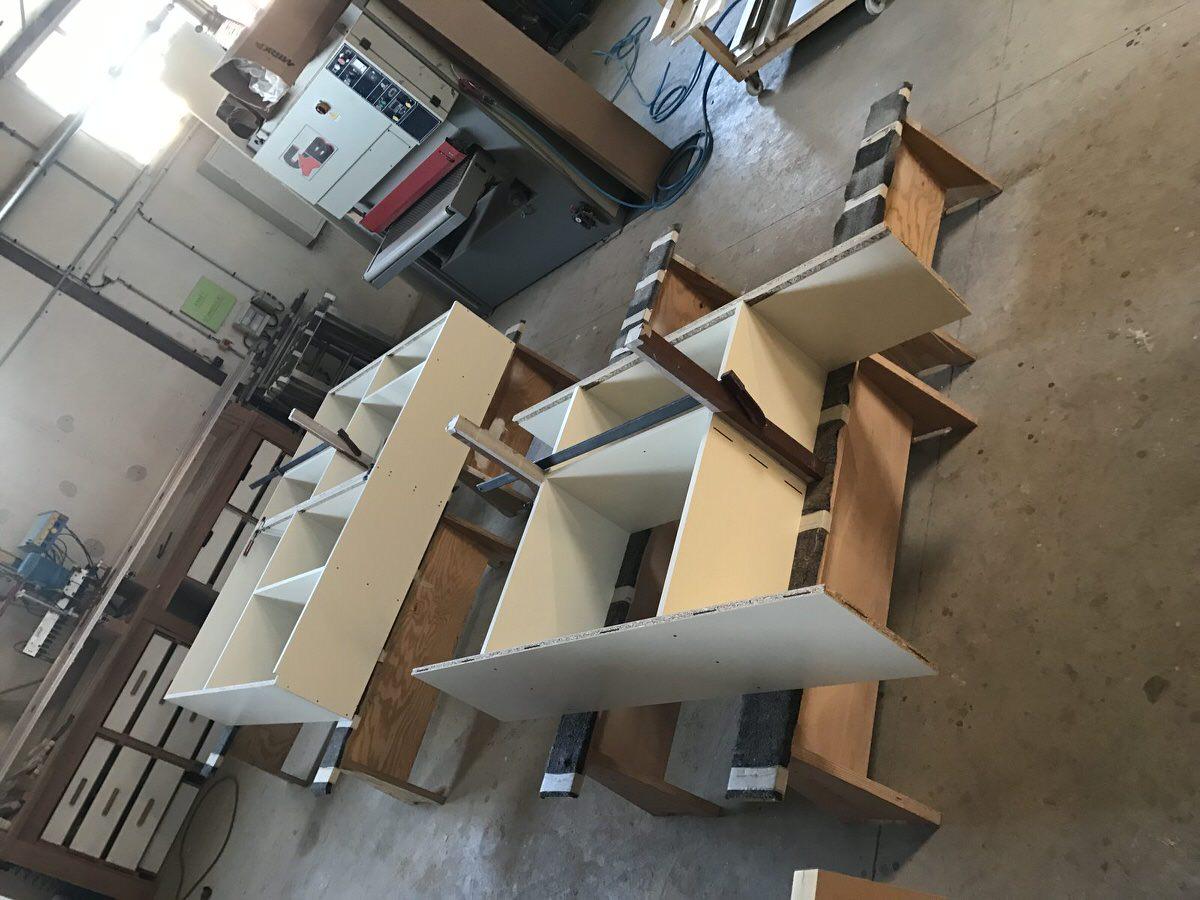 AM Déco Menuiserie - Processus de fabrication d'un meuble (En atelier)